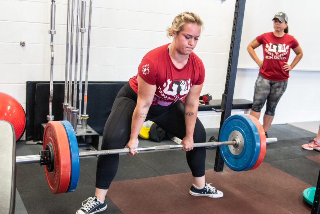 2017 Iron Sisters Strength Camp Scholarship Recipient Hailey Marwood,