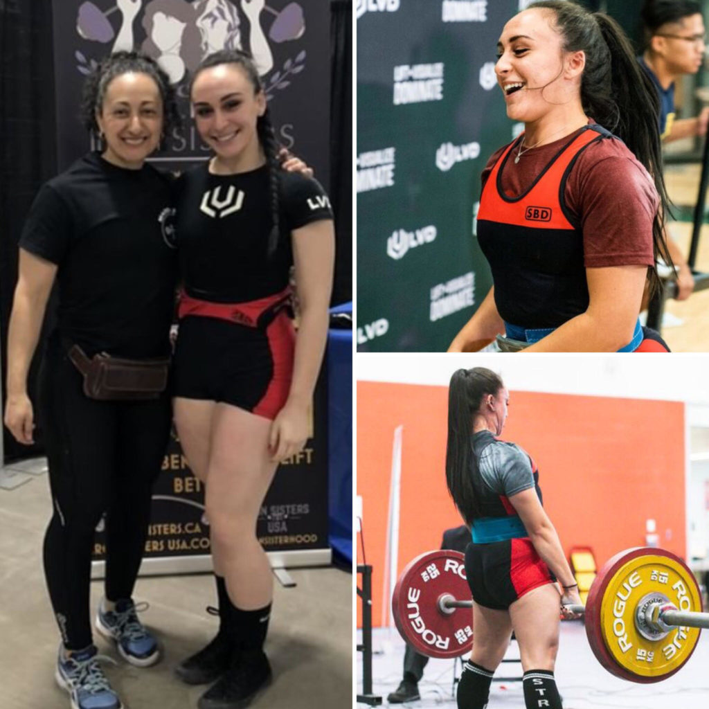 2019 Iron Sisters Strength Camp Scholarship Recipient Serena DeSantis,